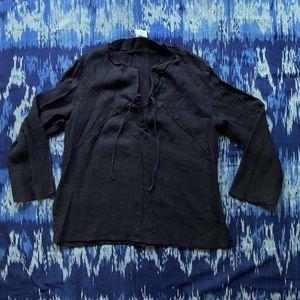 Vintage 100% linen shirt
